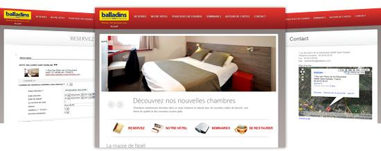 hotel balladins saint herblain