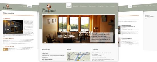 restaurant gastronomique clemence