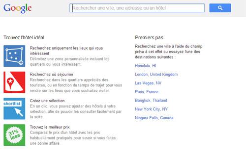 Google hotel finder le comparateur d h tels de google for Site de comparateur hotel